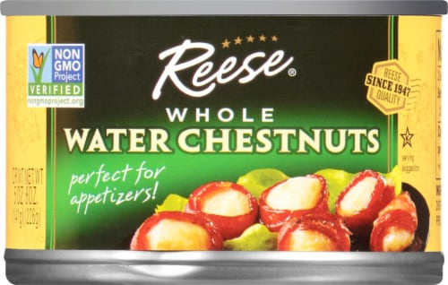 Reese  Whole Water Chestnuts Perspective: front