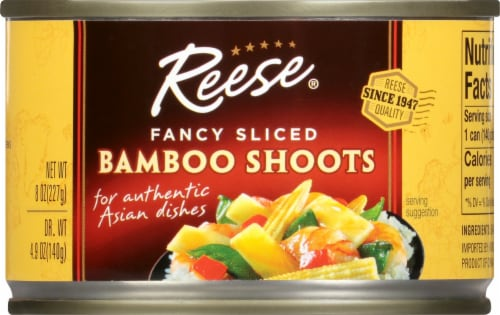 Reese Fancy Sliced Bamboo Shoots Perspective: front