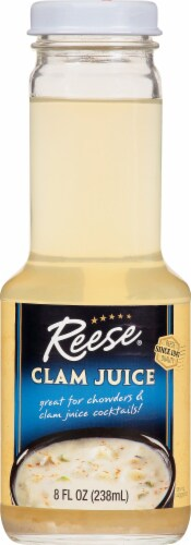 Reese All Natural Clam Juice Perspective: front