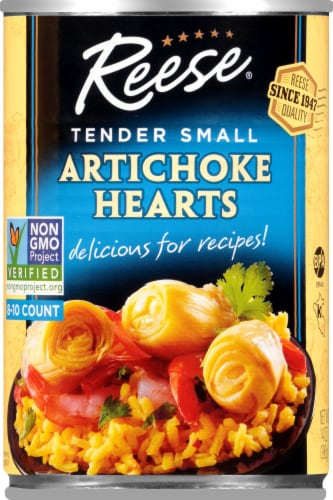 Reese Tender Small Artichoke Hearts Perspective: front