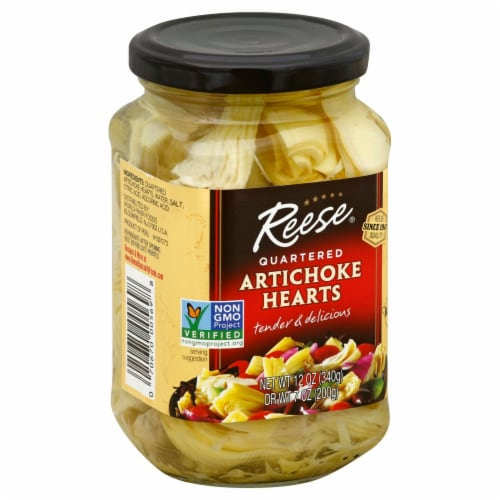 Reese Quartered Artichoke Heart Perspective: front