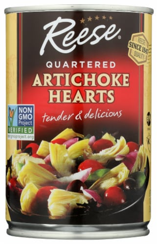 Reese Quartered Artichoke Hearts Perspective: front