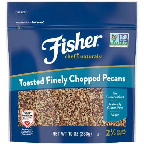 Fisher Chef's Naturals Toasted Finely Chopped Pecan Perspective: front