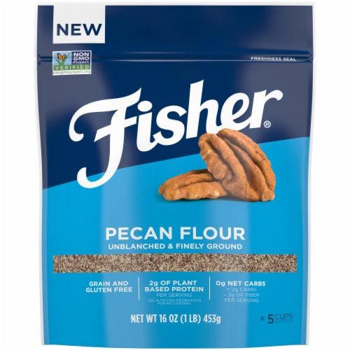Fisher Pecan Flour Perspective: front