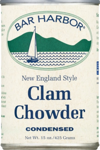 Bar Harbor New England Style Condensed Clam Chowder Perspective: front