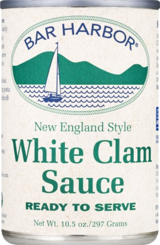 Bar Harbor White Clam Sauce Perspective: front