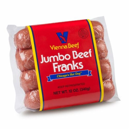 Vienna Beef Jumbo Franks Perspective: front