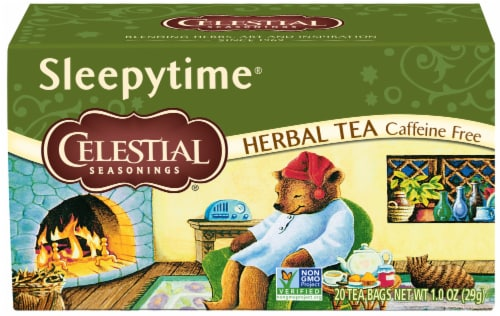Celestial Seasonings Sleepytime Herbal Tea Bags Perspective: front