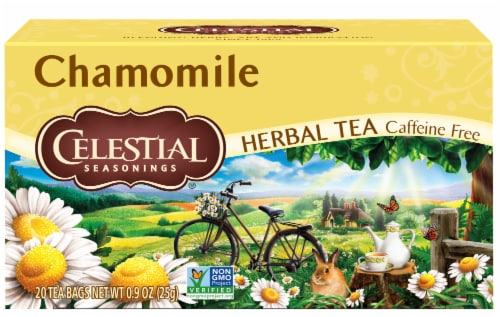 Celestial Seasonings Chamomile Herbal Tea Bags Perspective: front