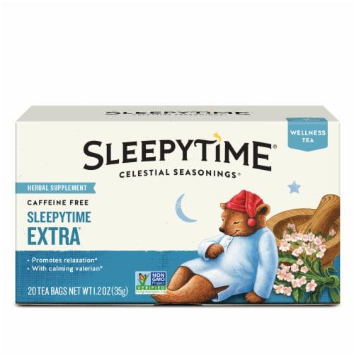 Celestial Seasonings Sleepytime Extra Tea Bags Perspective: front