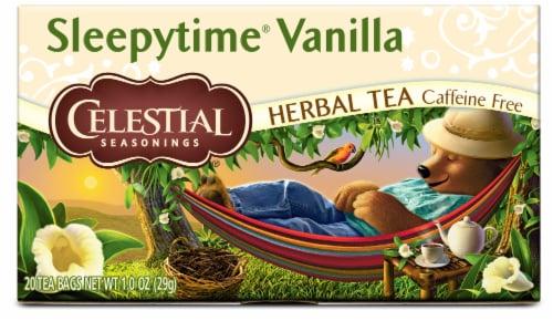 Celestial Seasonings Sleepytime Vanilla Herbal Tea Bags Perspective: front