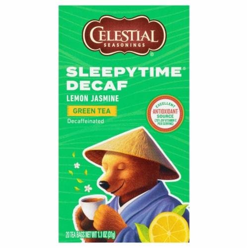 Celestial Seasonings Lemon Jasmine Sleepytime Tea Bags Perspective: front