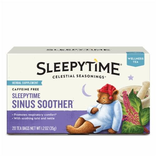 Celestial Seasonings Sleepytime Sinus Soother Herbal Tea Bags Perspective: front
