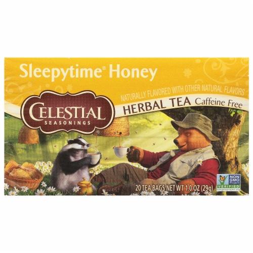 Celestial Seasonings Sleepytime Honey Herbal Tea Bags Perspective: front
