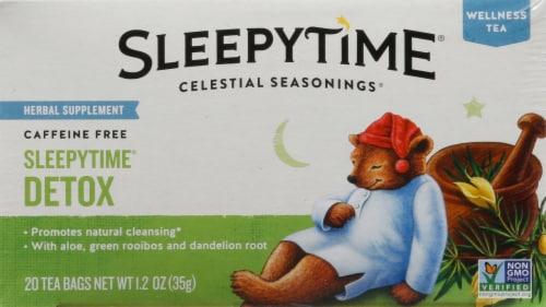 Celestial Seasonings SleepyTime Detox Wellness Tea Bags 20 Count Perspective: front