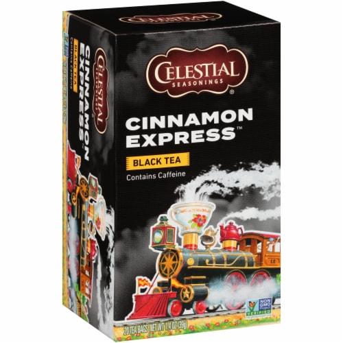 Celestial Seasonings Cinnamon Express Black Tea Bags Perspective: front