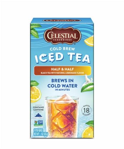 Celestial Seasonings® Half & Half Cold Brew Iced Tea Perspective: front