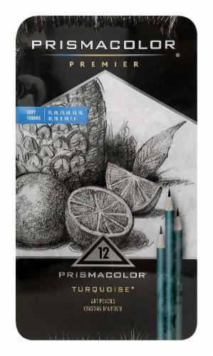 Prismacolor Premier Art Pencils - Turquoise Perspective: front
