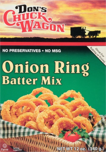 Don's Chuck Wagon Onion Ring Mix Perspective: front