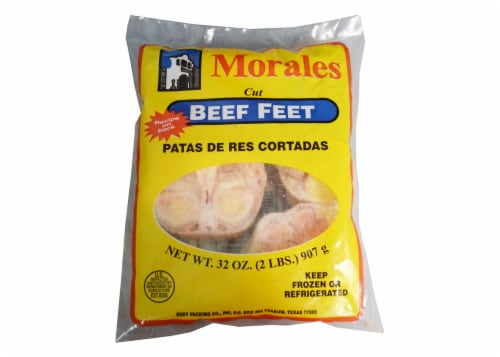 Morales Beef Feet Perspective: front
