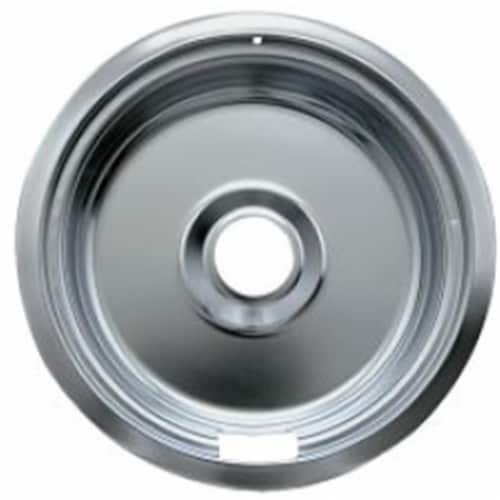 Range Kleen 110-A 8 in. Chrome Drip Bowl, Large Perspective: front