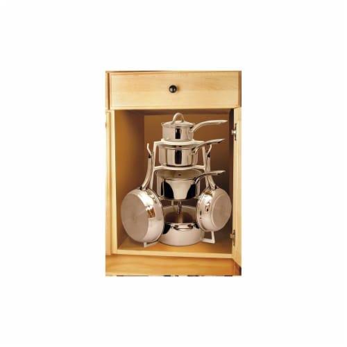 Range Kleen Ptp01 Pan Tree Cookware Organizer Perspective: front