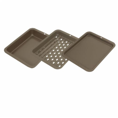 Range Kleen BW5 3 pc. Petite Bakeware Set Non-stick 8x10 - outer Perspective: front