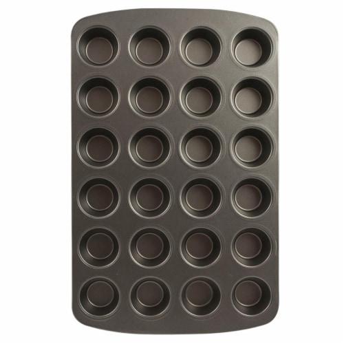RangeKleen Muffin Pan Non-Stick 24 Mini Perspective: front