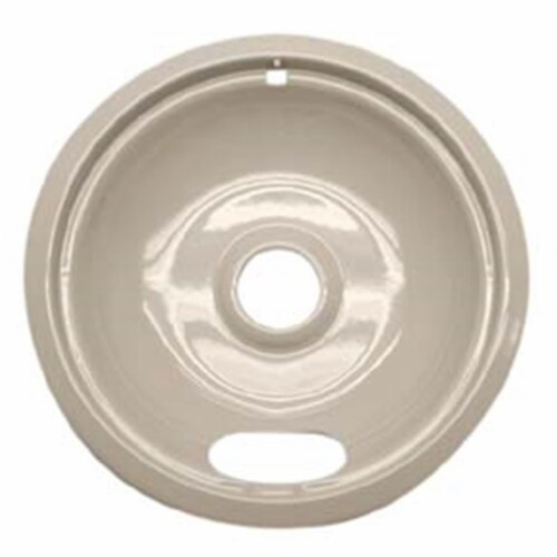 Range Kleen P120A 8 Inch Almond GE/Hotpoint/Kenmore Drip Pan Perspective: front