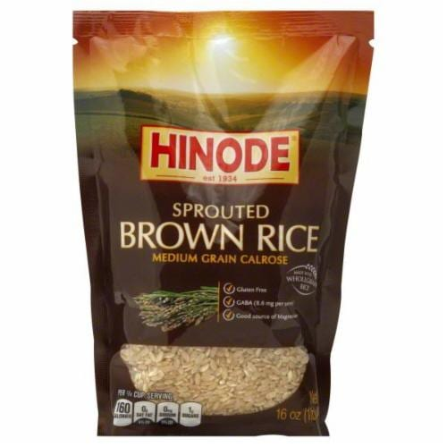 Hinode Sprouted Brown Rice Perspective: front