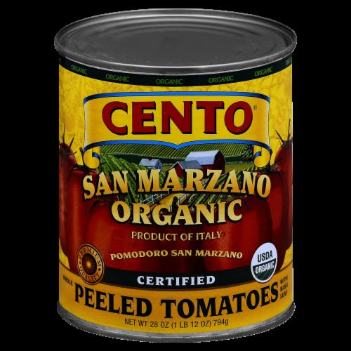 Cento Organic San Marzano Peeled Tomatoes Perspective: front