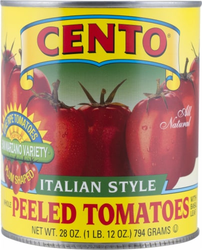 Cento Italian Style Peeled Tomatoes Perspective: front