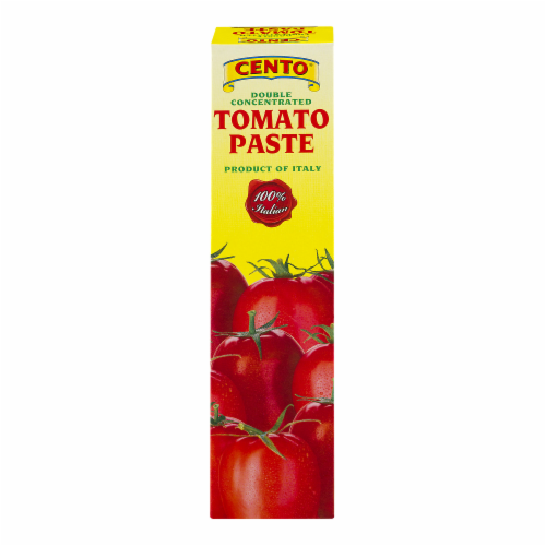 Cento Tomato Paste Tube Perspective: front