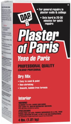 DAP® Plaster of Paris Dry Mix - White Perspective: front