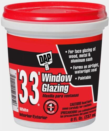 DAP® 33® Window Glazing - White Perspective: front