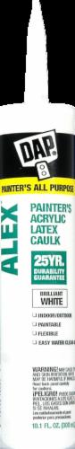 DAP ALEX Painter's Acrylic Latex Caulk Perspective: front