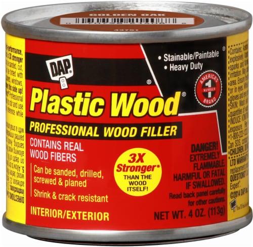 DAP® Plastic Wood® Professional Wood Filler - Golden Oak Perspective: front