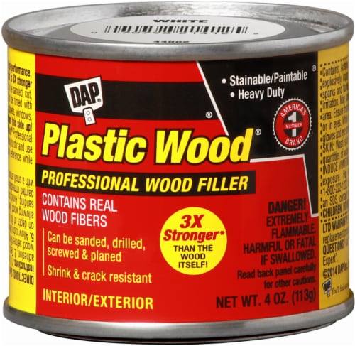 DAP® Plastic Wood® Professional Wood Filler - White Perspective: front