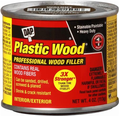 DAP® Plastic Wood® Professional Wood Filler - Walnut Perspective: front