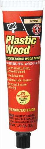 DAP Plastic Wood Professional Wood Filler - Natural Perspective: front