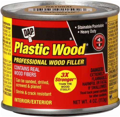 DAP® Plastic Wood® Professional Wood Filler - Natural Perspective: front