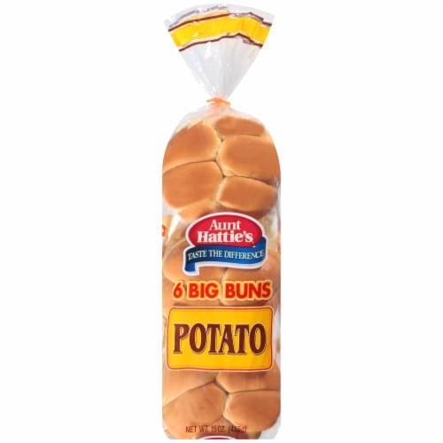 Aunt Hattie's® Potato Sandwich Buns Perspective: front