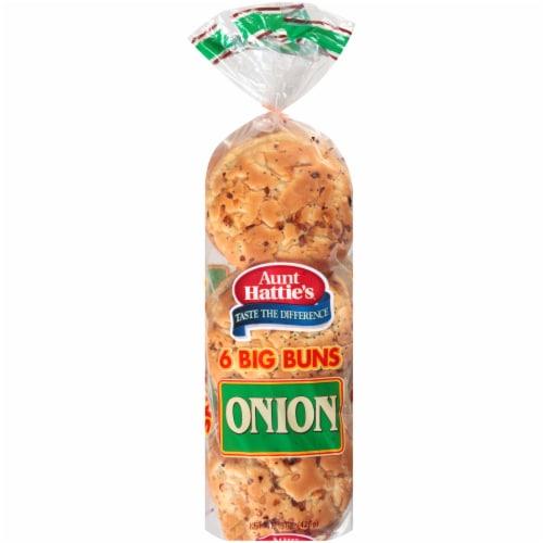 Aunt Hattie's® Onion Sandwich Buns Perspective: front