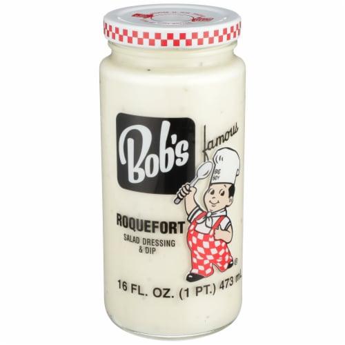 Bob's Famous Roquefort Salad Dressing & Dip Perspective: front