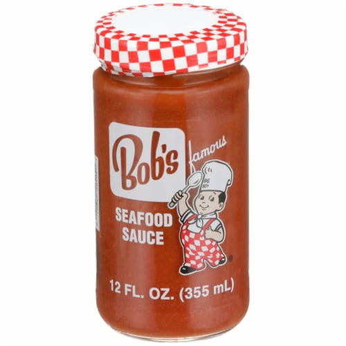 Bob's Famous Big Boy Seafood Sauce Perspective: front