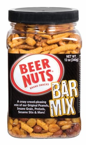 Beer Nuts Bar Mix Perspective: front