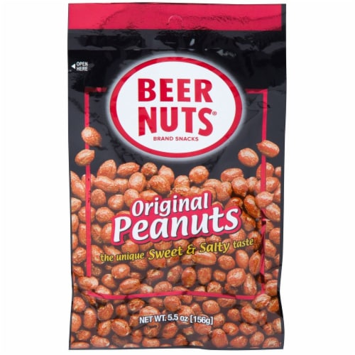 Beer Nuts Original Peanut, 5.5 Ounce -- 48 per case. Perspective: front