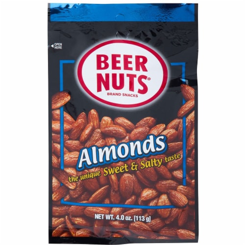 Beer Nuts Almond, 4 Ounce - 12 per pack -- 48 packs per case. Perspective: front