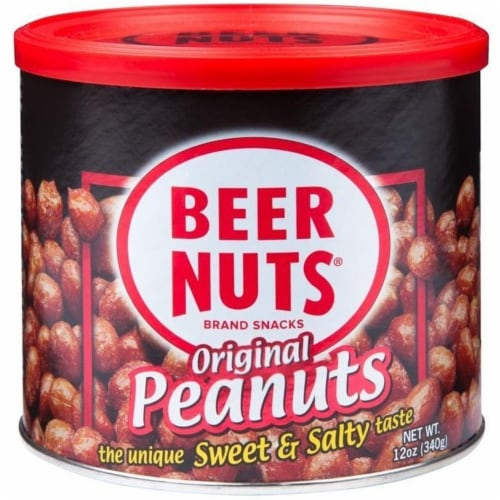 Beer Nuts Original Peanut, 12 Ounce -- 12 per case. Perspective: front