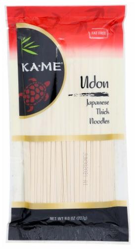 KA-ME Udon Noodles Perspective: front